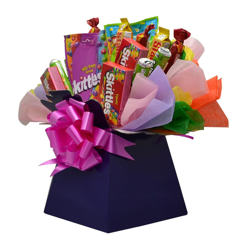 skittles fruity sweets luxury bouquet