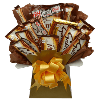 galaxy luxury chocolate bouquet