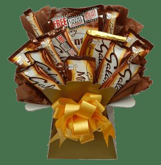 galaxy luxury chocolate bouquet