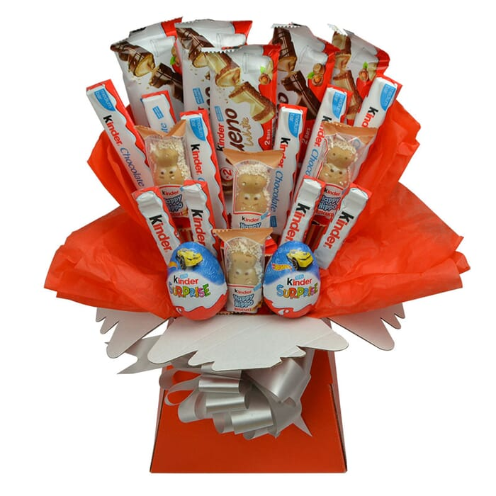 kinder bueno chocolate bouquet