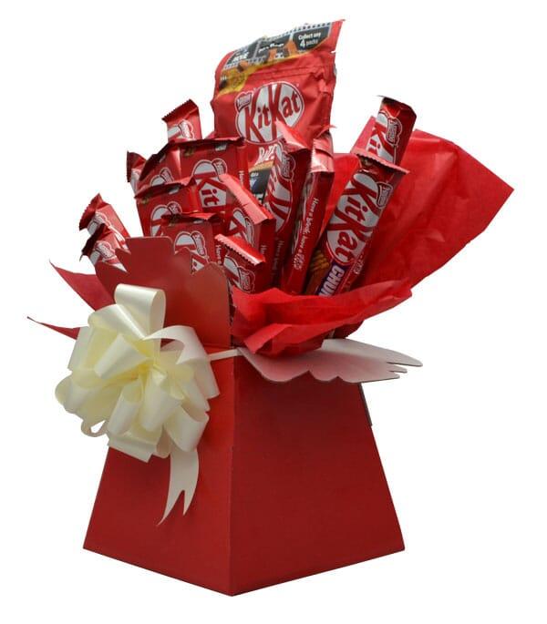 kit kat luxury chocolate bouquet