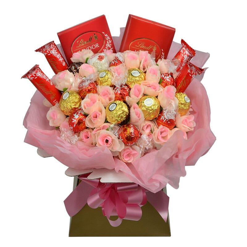 ferrero rochet chocolate bouquet