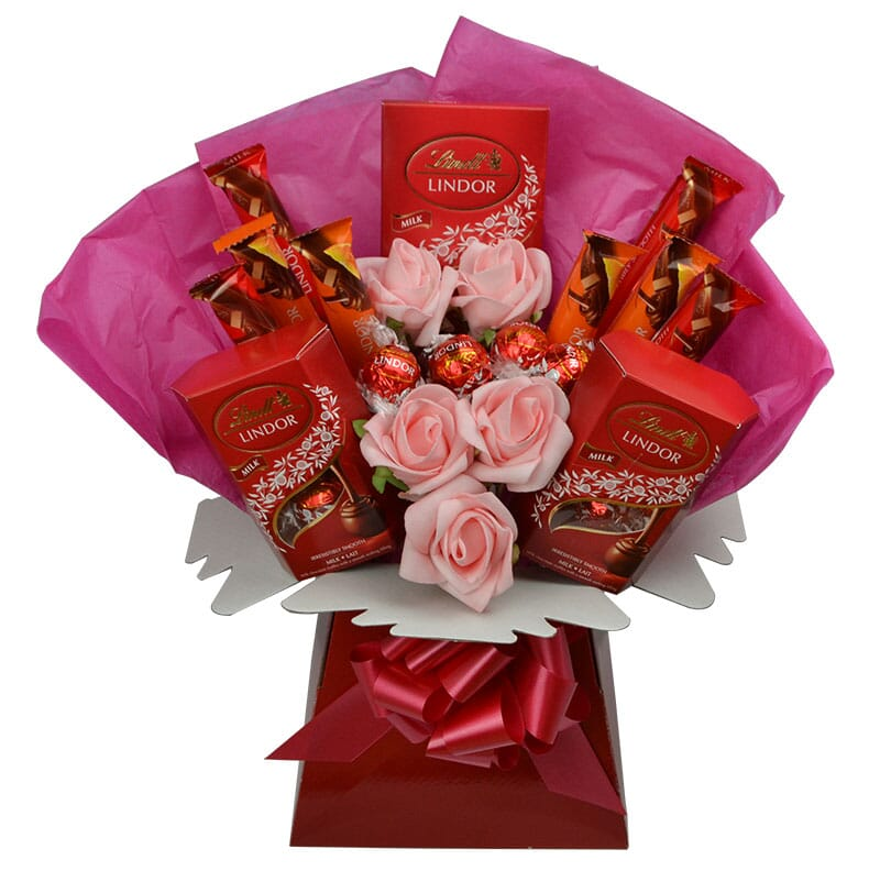Lindt Lindor Luxury Chocolate Bouquet Sweet Tooth Gifts