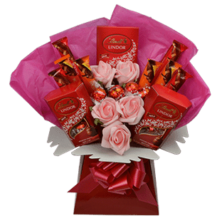 lindt lindor luxury chocolate bouquet