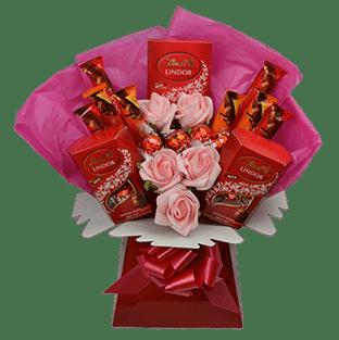 lindt lindor luxury chocolate bouquet